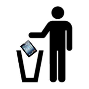 Få din iPad repareret i stedet for at smide den ud
