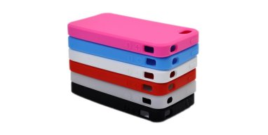 iPhone 4S silikone cover, flere farver