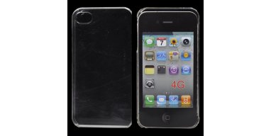 Gennemsigtigt iPhone 4 / 4S TPU Cover