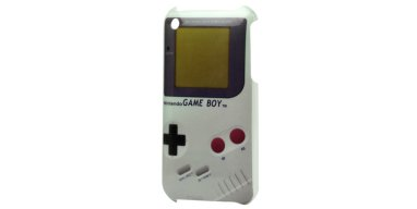 iPhone 3GS cover, gameboy look
