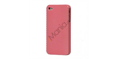 iPhone 4 / 4S cover perforeret pink