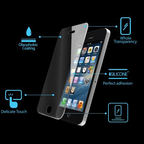iPhone 5 hærdet glas - Premium tempered glass screen protector