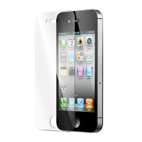 iPhone 4 beskyttelsesfilm og hærdet glas