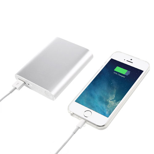 Ekstra batteri / Power Pack til iPhone eller iPad, 10.000mAh, 2,1A