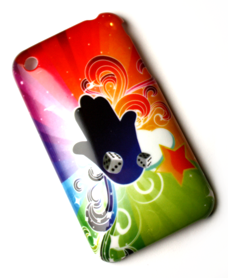 Luxus iPhone 3GS cover med mange farver