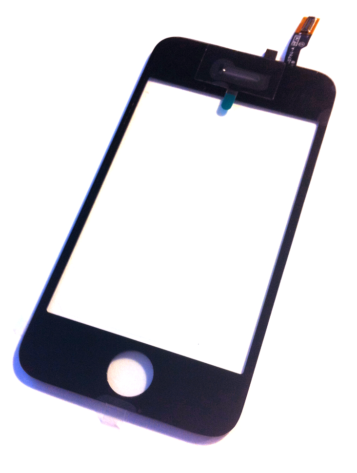 iPhone 3GS glas og tryksensor (digitizer)