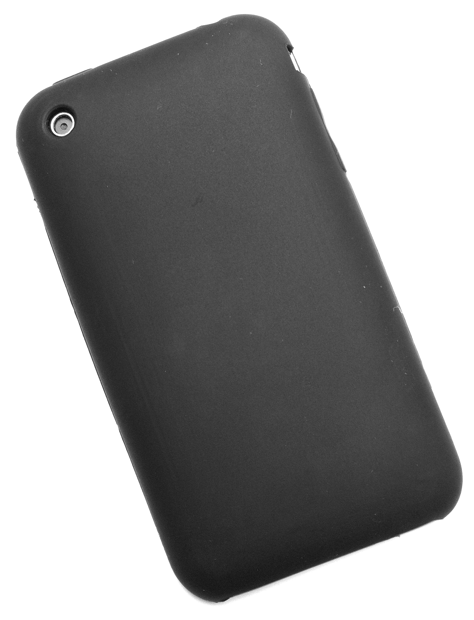 iPhone 3G/3G[S] silikonecover, sort