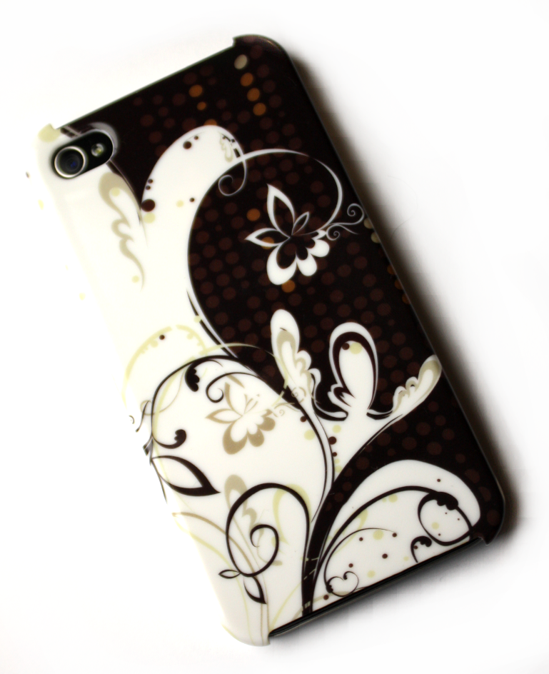 Image of   Lux iPhone 4 cover med cafetema