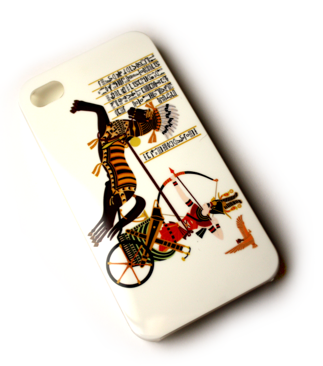 Image of   Lux iPhone 4 cover med karet