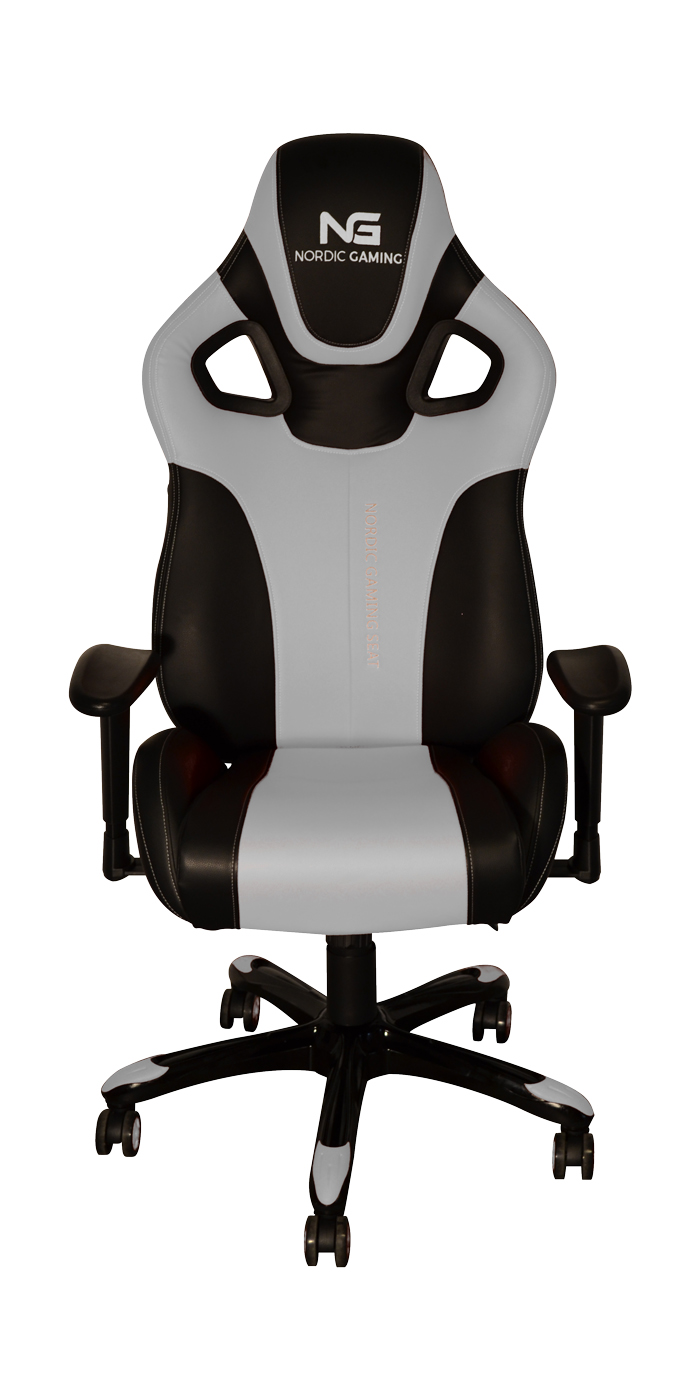Nordic Gaming Performance Gamer Stol White Black