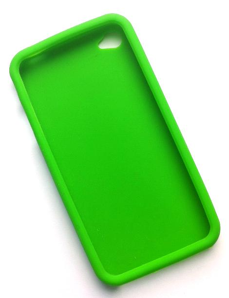 Billede af Silikonecover til iPhone 4, grøn