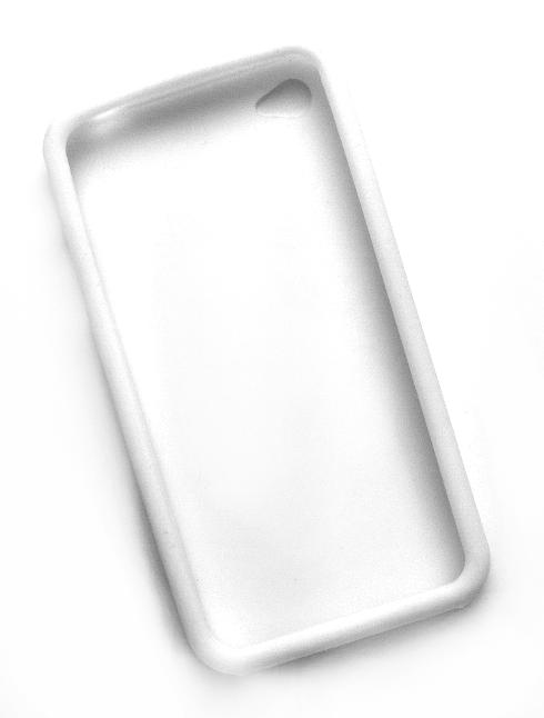 Billede af Silikonecover til iPhone 4, hvid