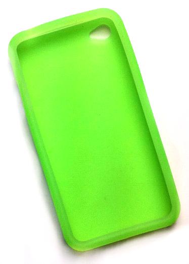 Billede af Silikonecover til iPhone 4, forårsgrøn