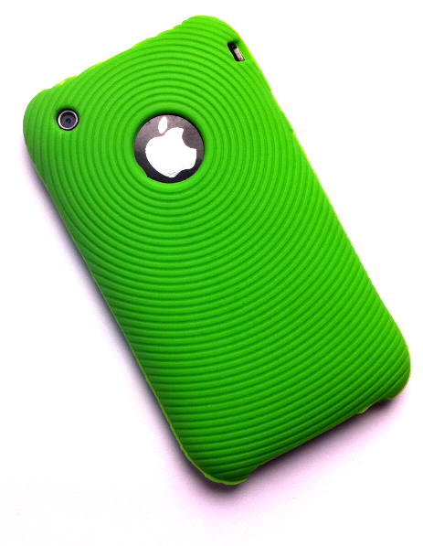 iPhone 3G/3G[S] silikonecover, grøn