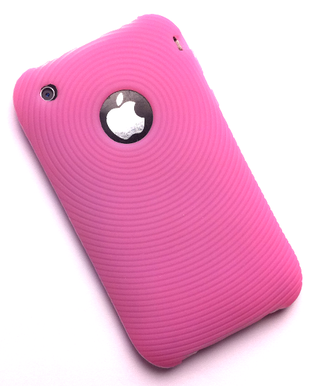 iPhone 3G/3G[S] silikonecover, pink