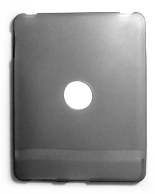 Billede af iPad cover i grå silikone