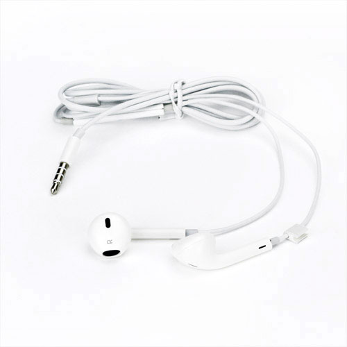 iPhone 5 headset - Hvid