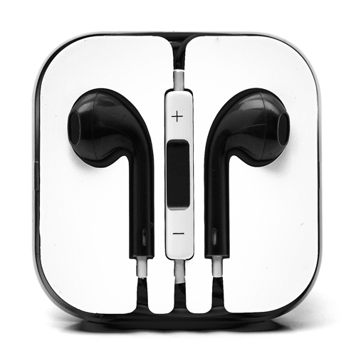 iPhone 5 headset - Sort