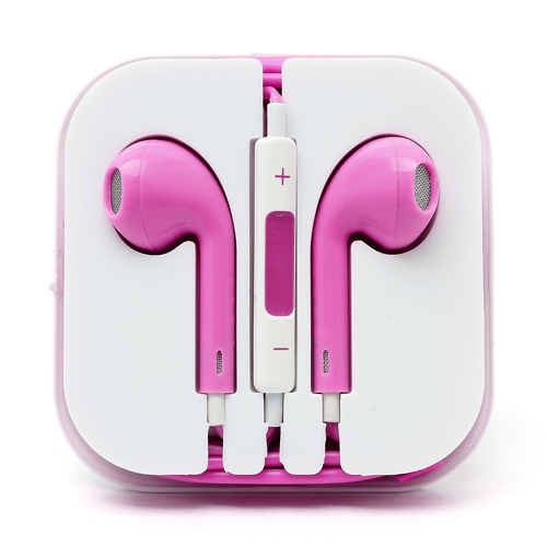 iPhone 5 headset - Pink