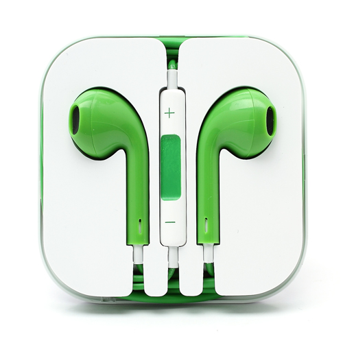 iPhone 5 headset - Grøn