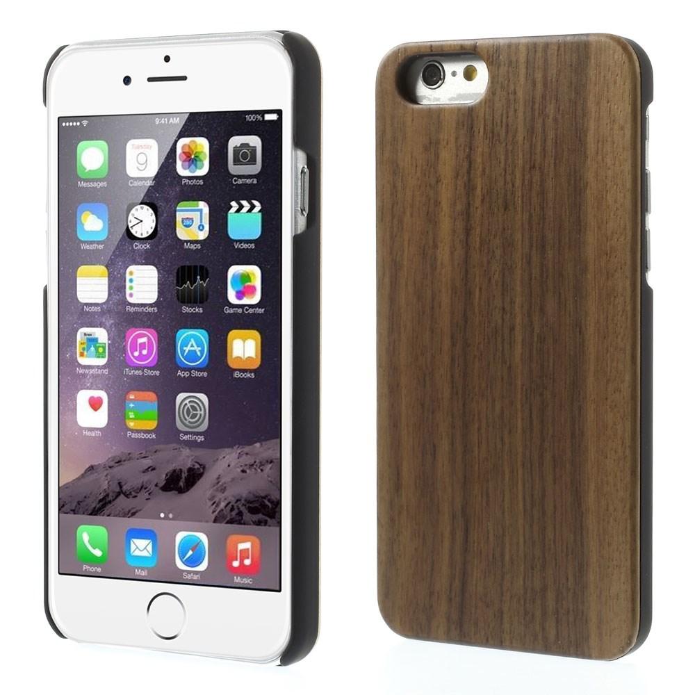 iPhone 6 Cover af træ / Sort valnøddetræ