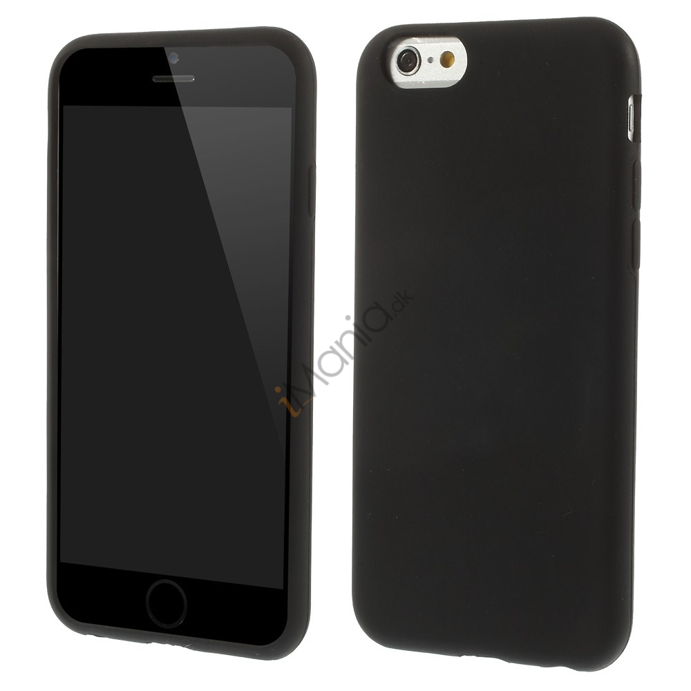 Image of   Blødt iPhone 6 silikonecover, sort