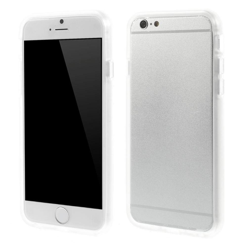 iPhone 6 Bumper i TPU Gummi, Gennemsigtig