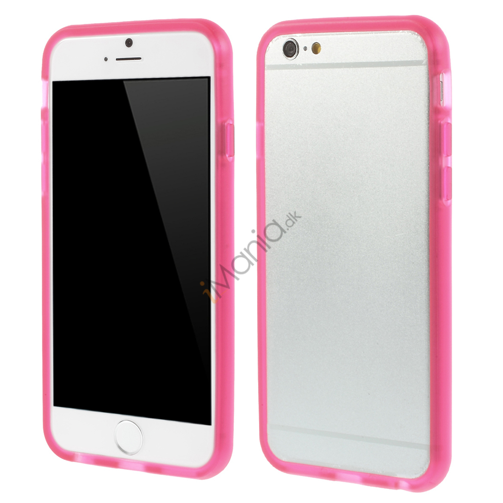 Image of   iPhone 6 Bumper i TPU Gummi, Pink