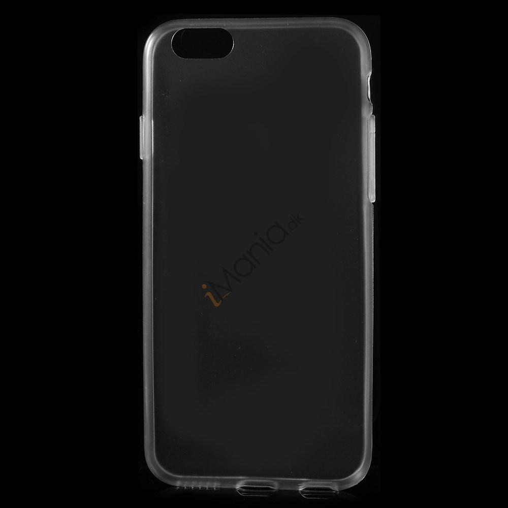 Tyndt iPhone 6 Cover i TPU-gummi, gennemsigtig