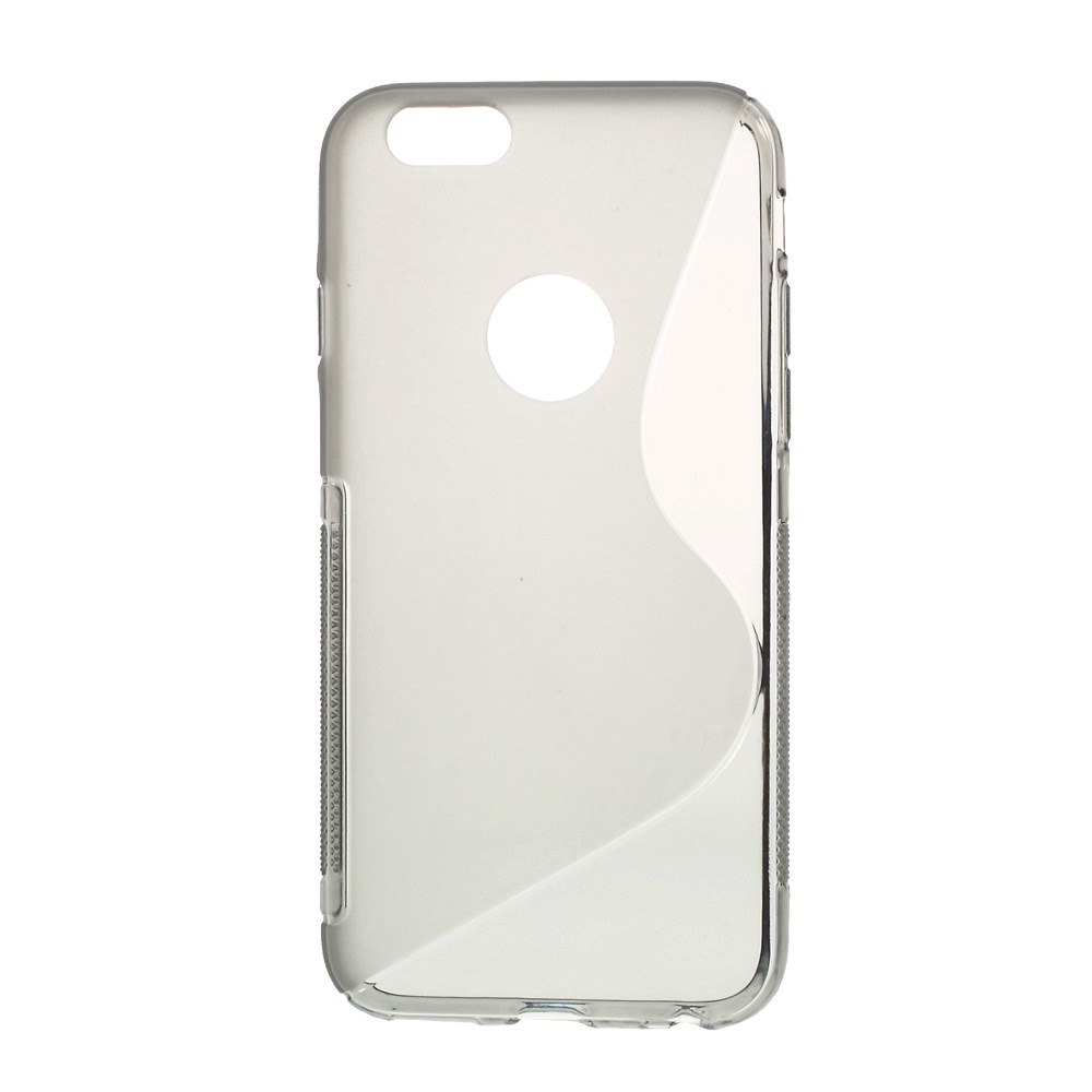 Image of   iPhone 6 cover med bølgemønster, grå