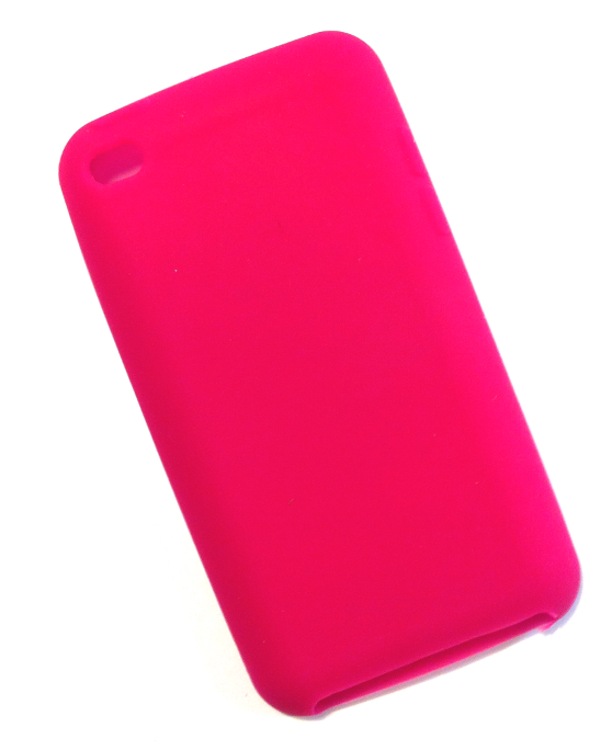 Image of   iPod Touch 4 cover hindbærrød