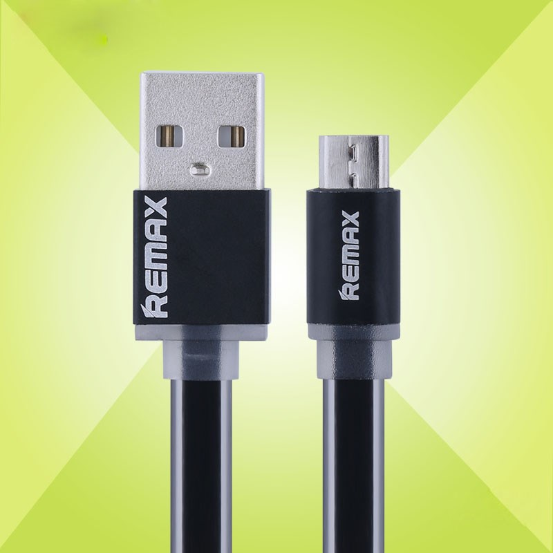 Remax Micro-USB-kabel, sort