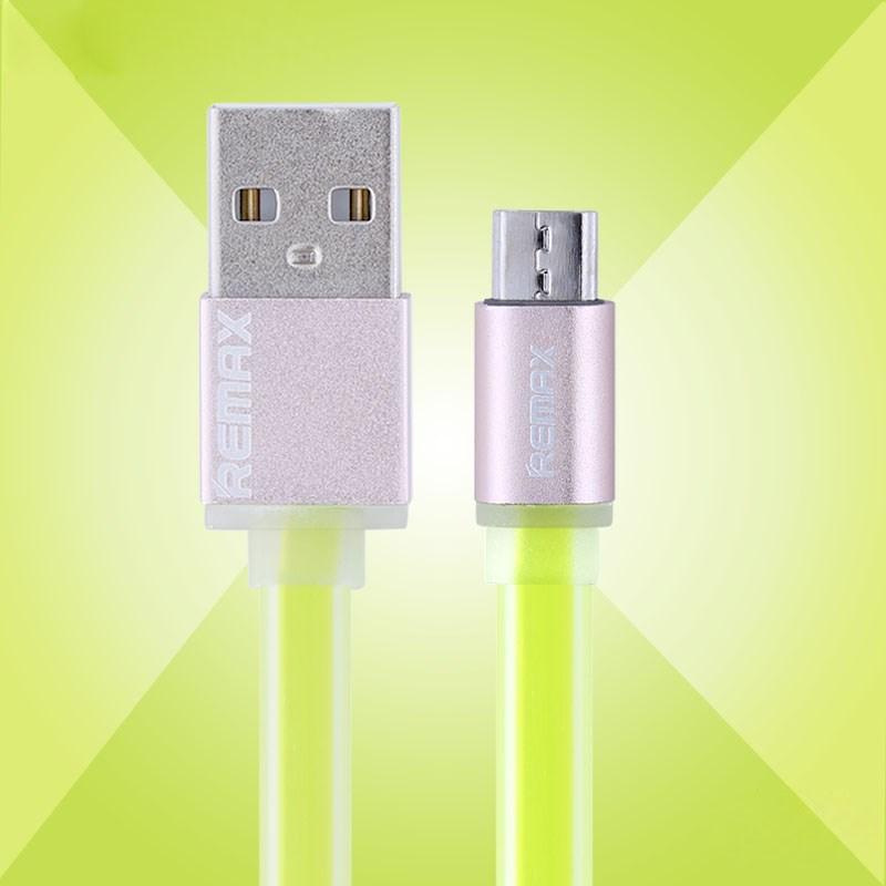Billede af Remax Micro-USB-kabel, forårsgrøn