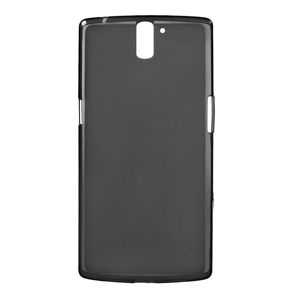 Gråt Mat-gennemsigtigt TPU Cover til OnePlus One