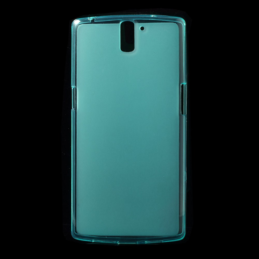 Cyan Mat-gennemsigtigt TPU Cover til OnePlus One
