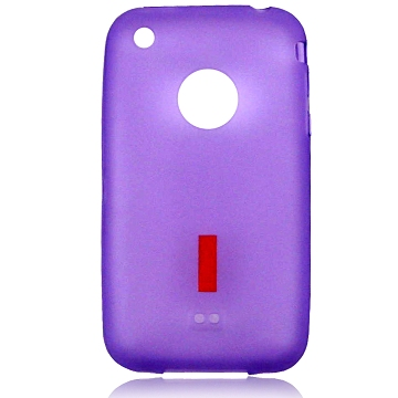 iPhone 3G TPU cover, lilla