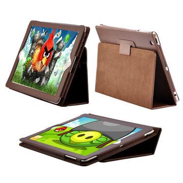 Billede af iPad 2 / Den Nye iPad 3 læder etui, brun