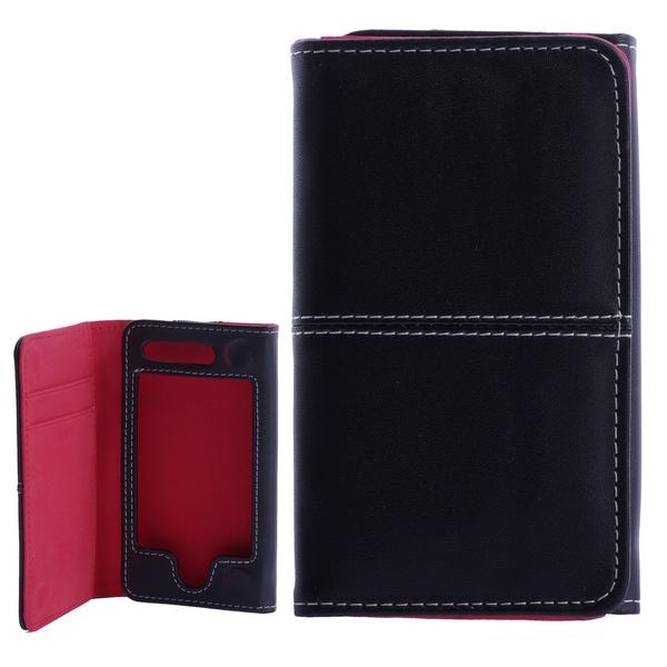 Billede af iPhone 4 / 4S læderetui med kreditkortholder