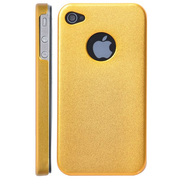 iPhone 4 / 4S Aluminium Cover, Guldfarvet