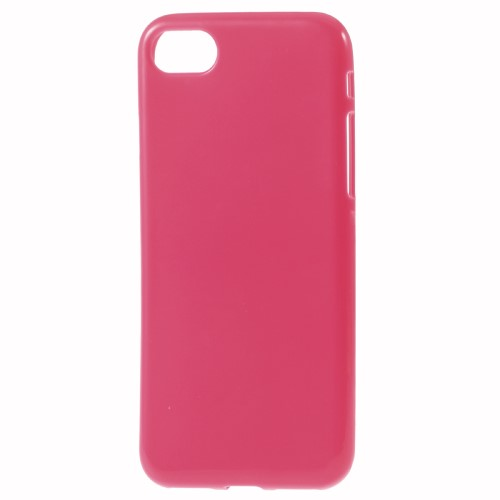 iPhone 7 TPU gummicover, hot pink