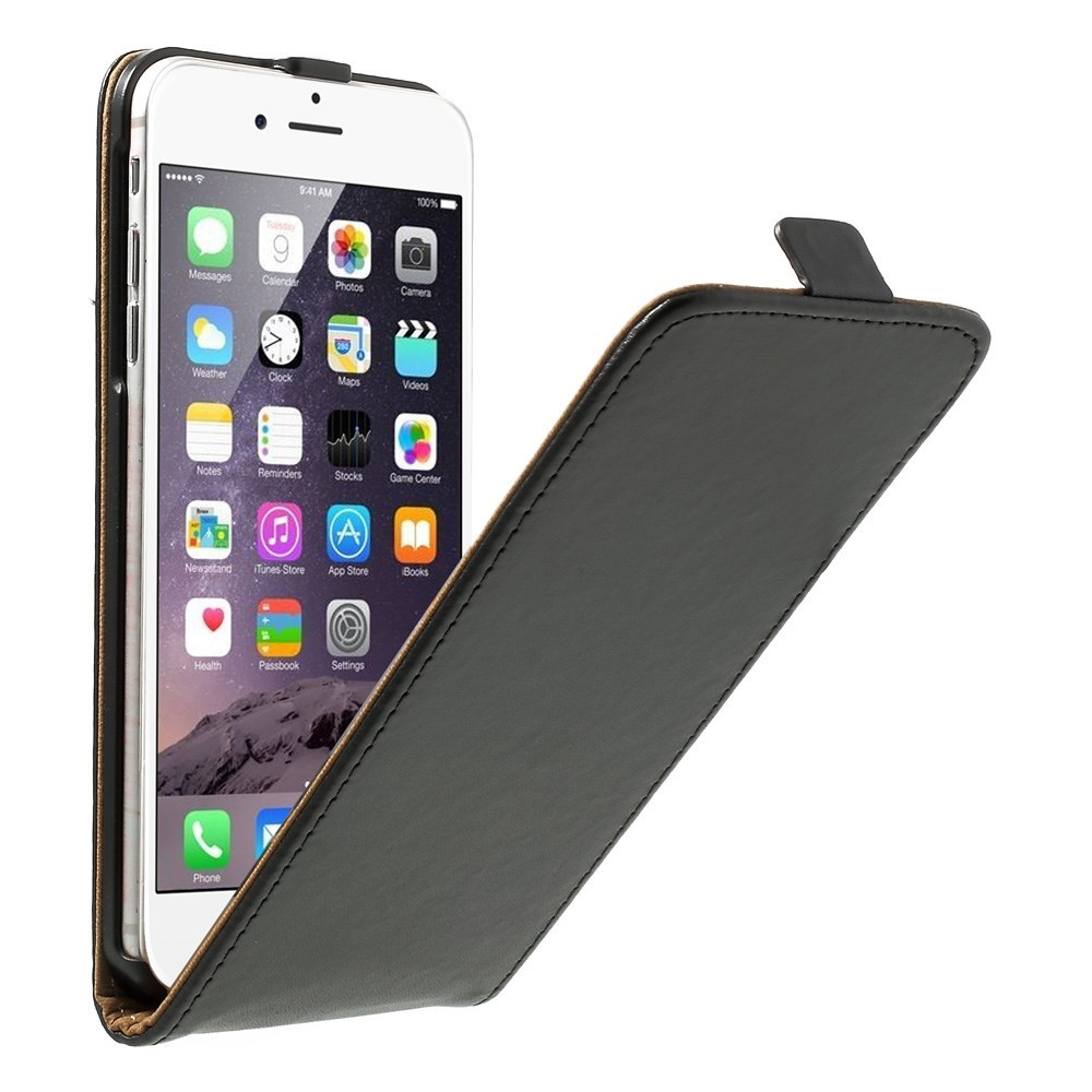 Lodret flipcover til iPhone 6 Plus og 6S Plus