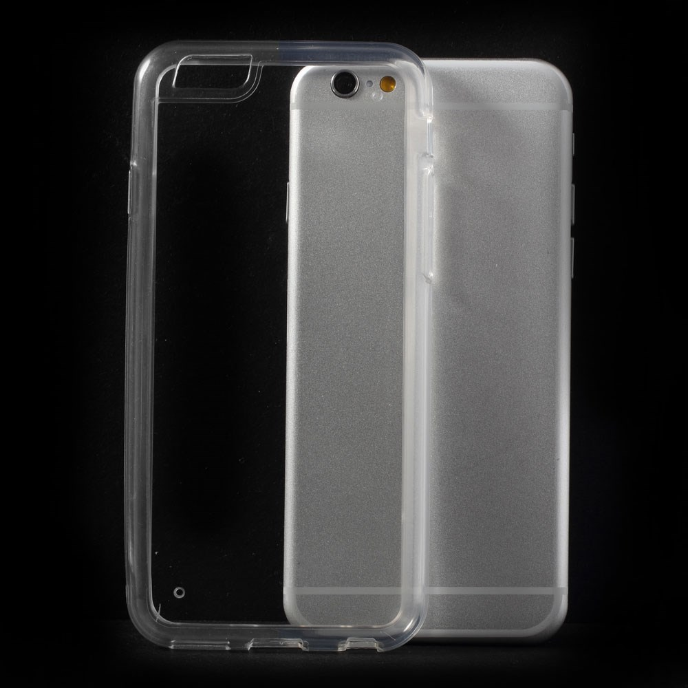 iPhone 6 PC-TPU hybridcover, gennemsigtig