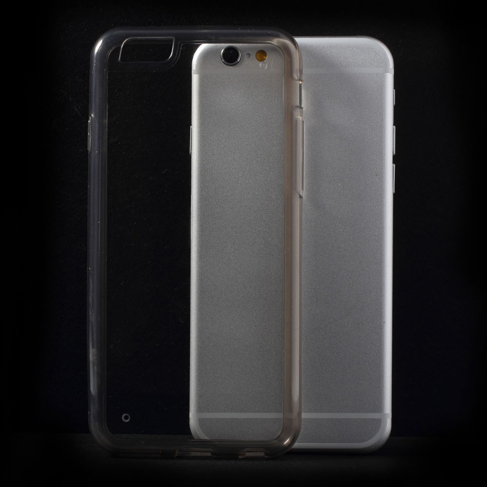 Image of   iPhone 6 PC-TPU hybridcover, grå