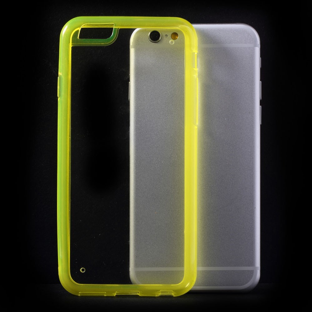 iPhone 6 PC-TPU hybridcover, neon