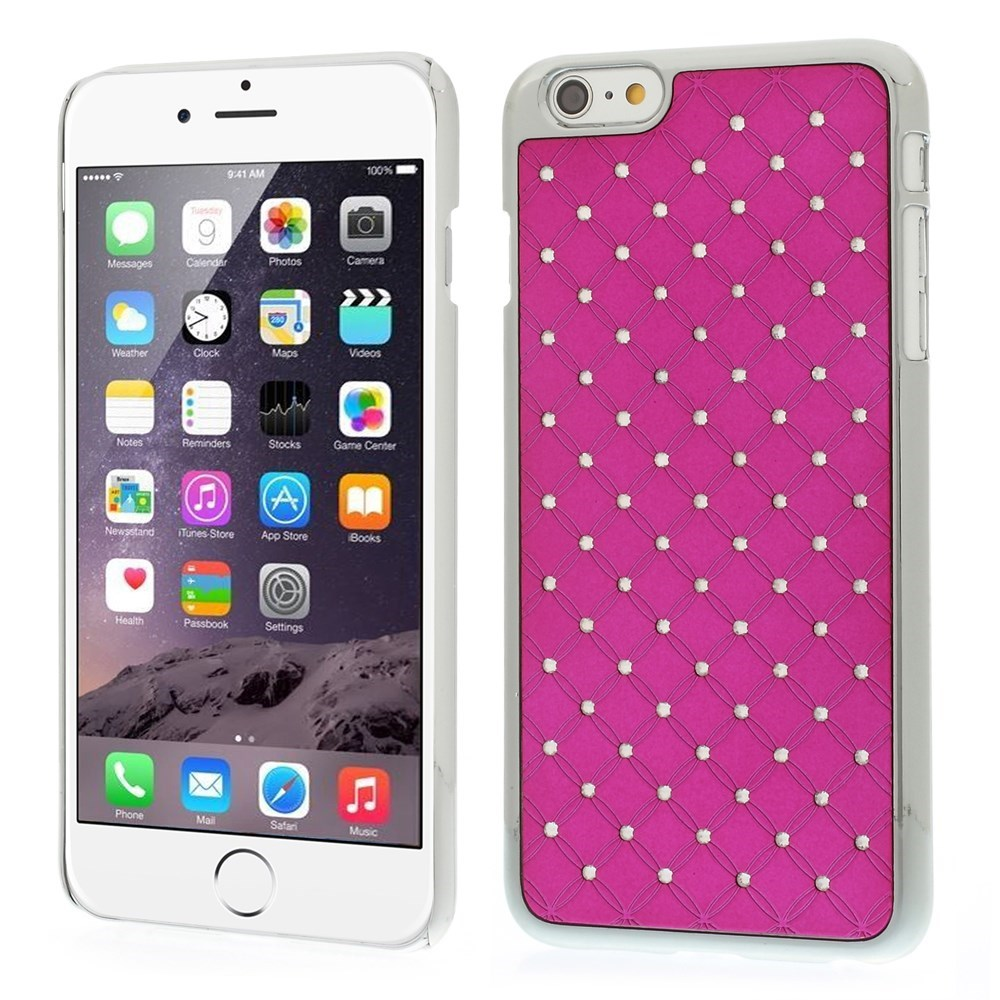 iPhone 6 Plus cover - Stjernehimmel, pink