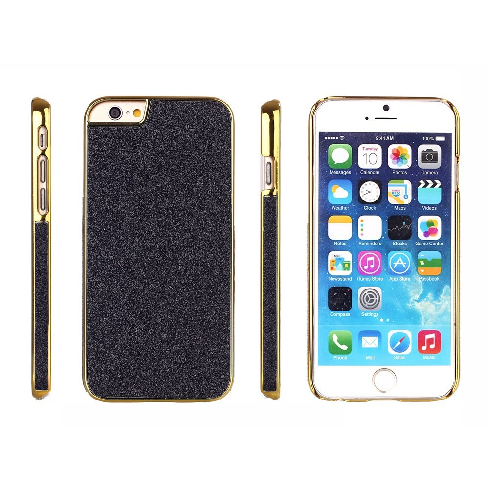 Image of   Bling Bling Glitter iPhone 6 Cover, sort