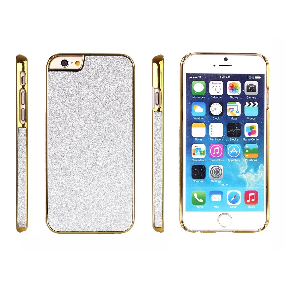Image of   Bling Bling Glitter iPhone 6 Cover, grå