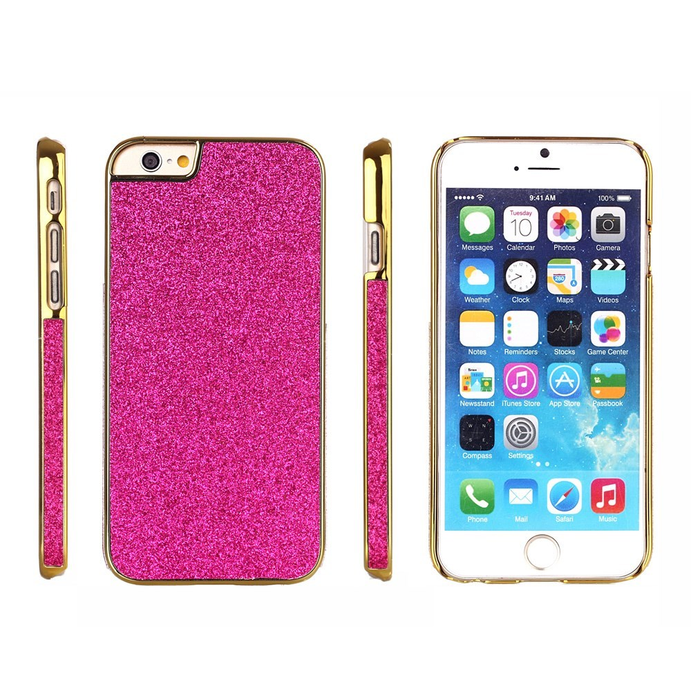 Image of   Bling Bling Glitter iPhone 6 Cover, pink