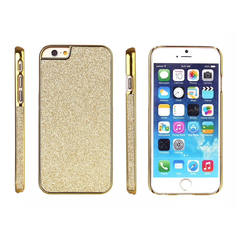 Image of   Bling Bling Glitter iPhone 6 Cover, guld