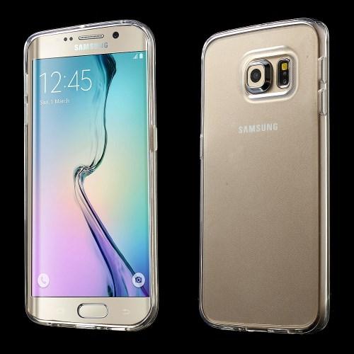 Billede af Samsung Galaxy S6 Edge cover i TPU, gennemsigtig